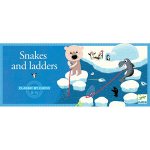 Djeco Snakes & Ladders Game