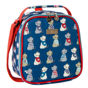 Beau & Elliot Scruffy Pup Lunch Bag