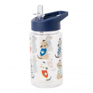 Beau & Elliot Scruffy Pup Water Bottle