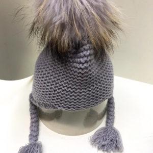 Bowtique Cable Knit Beanie