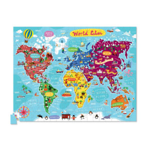 Crocodile Creek World Cities Poster Puzzle