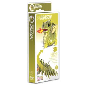 Brainstorm 3D Dragon Cardboard Model Kit