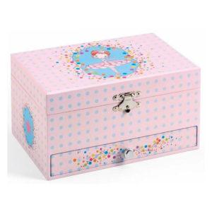 Djeco The Ballerina's Tune Musical Jewellery Box