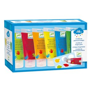 Djeco Finger Painting Tubes