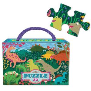 Eeboo Dinosaur Meadow Puzzle