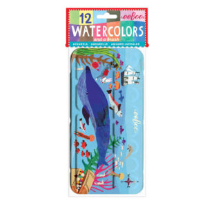 Eeboo Watercolours In The Sea