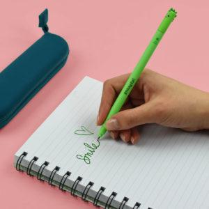 Legami Erasable Dino Gel Pen