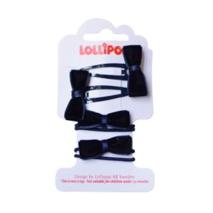 Lollipop Hair Bow Bobble and Clip Set