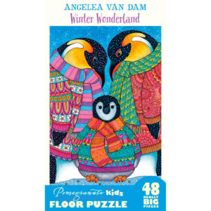 Pomegranate Winter Wonderland 48pc Floor Puzzle