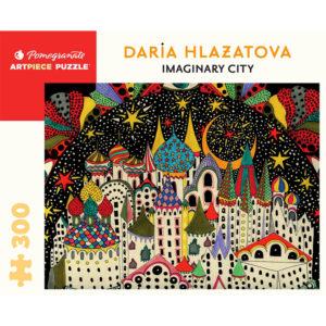 Pomegranate Imaginary City 300pc Puzzle