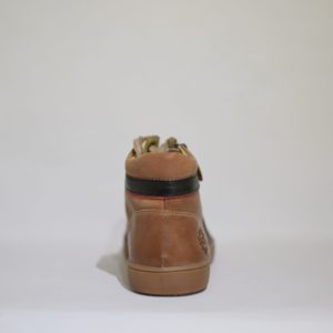 Ramdam Brown Leather Hi-Top