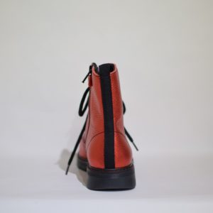 Richter Chunky Red Boot