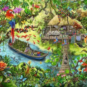 Ravensburger Jungle Journey 368pc Puzzle