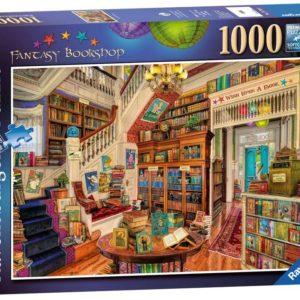 Ravensburger The Fantasy Bookshop 1000pc Puzzle