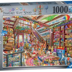 Ravensburger The Fantasy Toy Shop 1000pc Puzzle