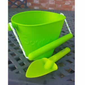 Scrunch Green Bucket