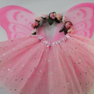 Spotted Cow Creations Sparkle Flower Fairy Set
