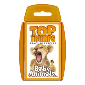 Top Trumps Baby Animals Card Game