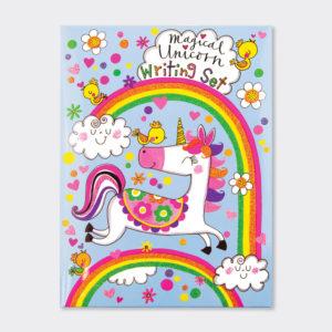 Rachel Ellen Magical Unicorn Writing Set