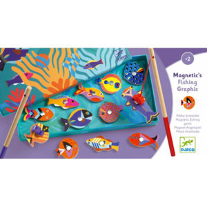 Djeco Magnetic Fishing Graphic Game