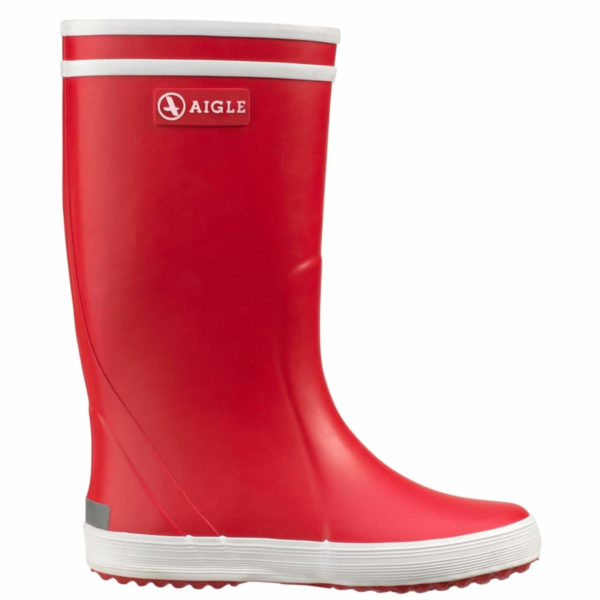 aigle welly red