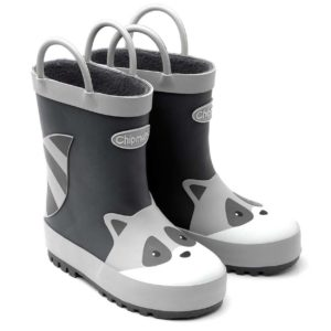 Racoon Wellington Boot with Handles