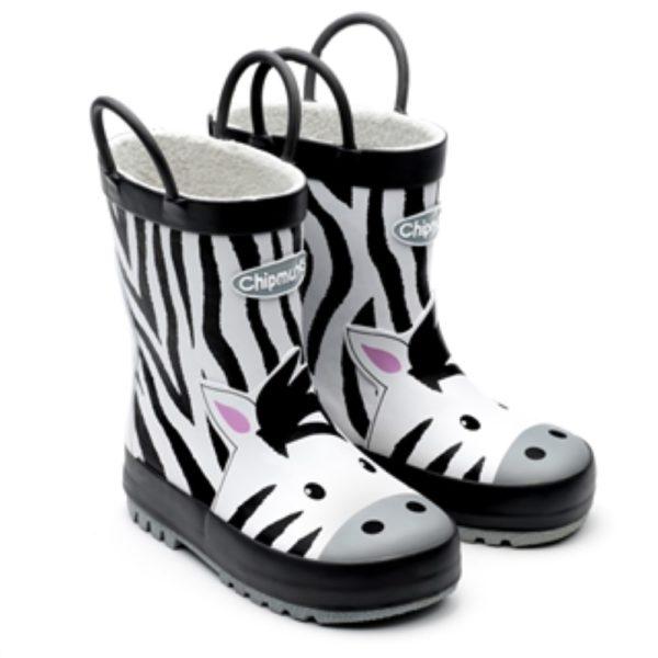 Zola Zebra Wellington Boots