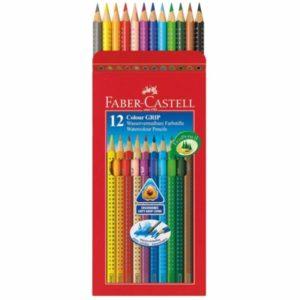Faber Castell Colour Grip Pencils Wallet of 12