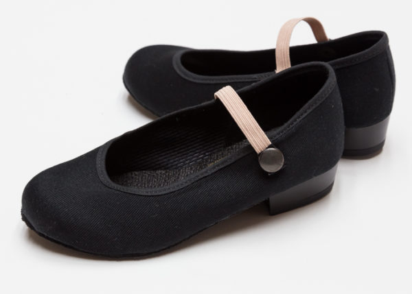 freed of london ballet character shoes side
