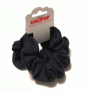Lollipop School Fabric Hair Scrunchie