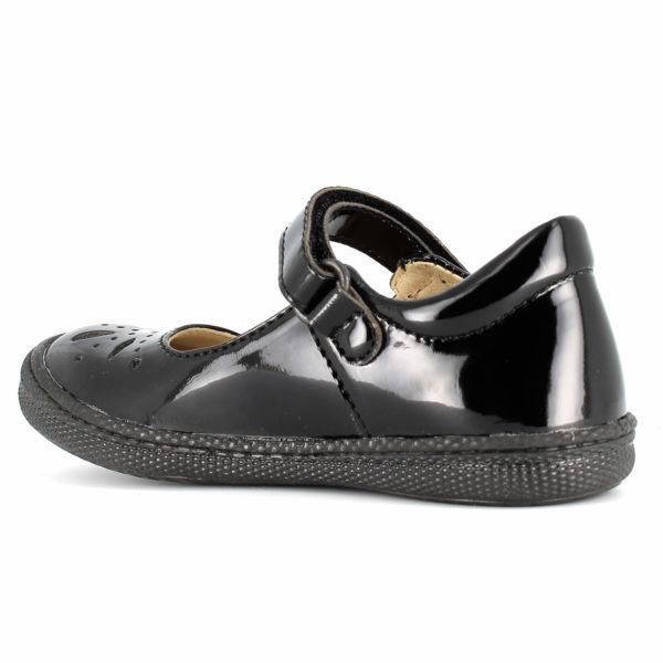 primigi clemence black patent sole