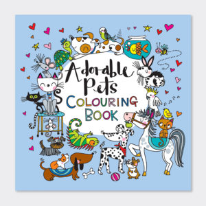 Rachel Ellen Adorable Pets Colouring Book