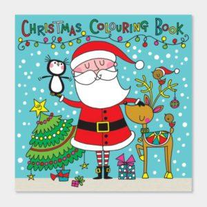Rachel Ellen Christmas Scene Colouring Book