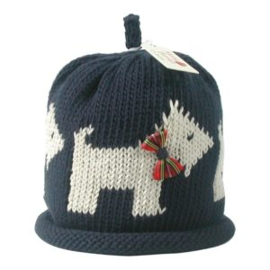 Merry Berry Scottie Hat