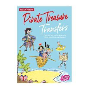 Scribble Down Pirate Treasure Transfers